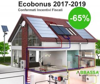 Ecobonus 2017 Riqualificazione Energetica